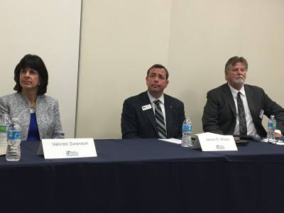 Candidates for State Rep. District 150 attended a forum at the Houston Northwest Chamber of Commerce on Feb. 21.