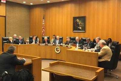Harris County Commissioners Court discussed the county's bail bond lawsuit at its Feb. 27 meeting.