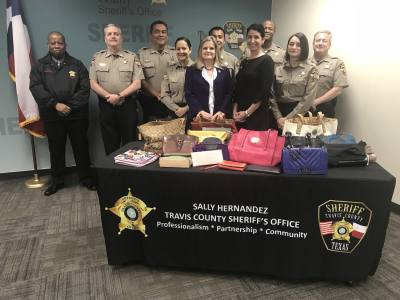 The Travis County Sheriff's Office is hosting a handbag donation drive that will benefit victims of family violence.