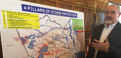 Harris County Precinct 4 Commissioner Jack Cagle discusses what is needed to protect the region from future flooding.