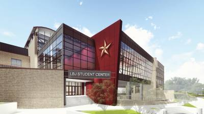 The LBJ Student Center at Texas State University will be expanded by more than 22,000 square feet.