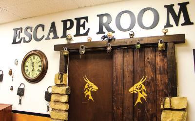 Escape Room Leanderu2019s newest room, the u201cThrone of Leander,u201d is a cross between u201cGame of Thronesu201d and King Arthur.