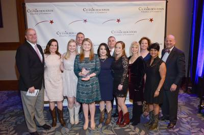 Memorial Hermann Cypress Hospital was named Large Business of the Year.