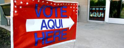 The primary election is March 6.
