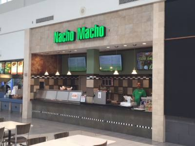Nacho Macho is now open at Lakeline Mall.