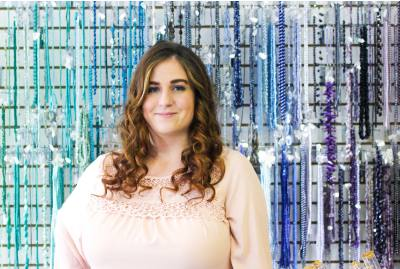 Holly Gardner owns and operates One Glance in Friendswood. The shop sells jewelry and  supplies and offers classes.