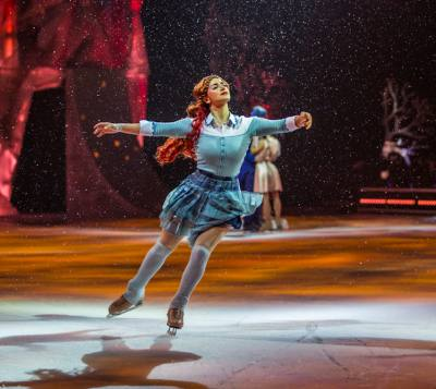 Cirque du Soleil presents its ice show this weekend.