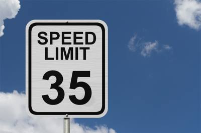 The speed limit for a portion of Morriss Road has been lowered to 35 mph.