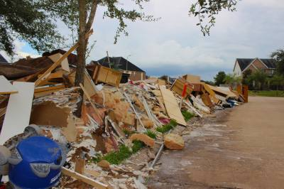 Homes damaged by Hurricane Harvey could receive up to 21 percent appraisal increases this year.