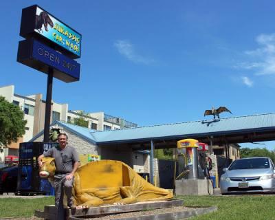 John Borek purchased Jurassic Car Wash in 2015.