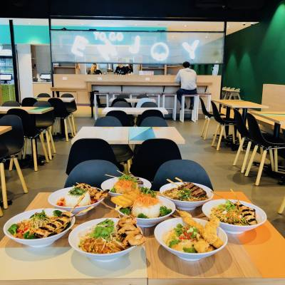 EnjoyMint is the new fast-casual, Thai-fusion concept by the owner of Dallas' Asian Mint.
