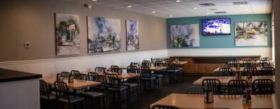 Renovations at Richardson's Rockfish Seafood Grill wrapped up in June. A new 50-seat, private dining area was among the improvements