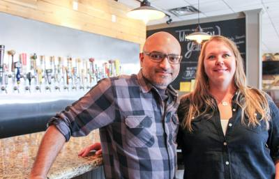Missouri City residents Laura and Tom Abraham opened Texas Biergarten after years of planning.