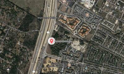 The proposed 244-room hotel would be located on a 6.5-acre site off MoPac.