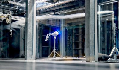 The BLAST wind tunnel at The University of Texas at Dallas creates wind speeds reaching between 80 and 115 mph.