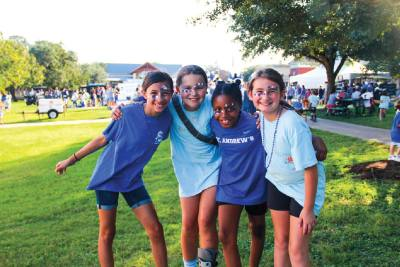 St. Andrew's Episcopal School provides private education for grades k-12.