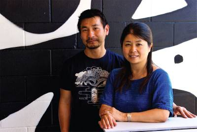 Takehiro and Kayo Asazu opened Komu00e9 in 2011 after they met in Austin in the 1990s.