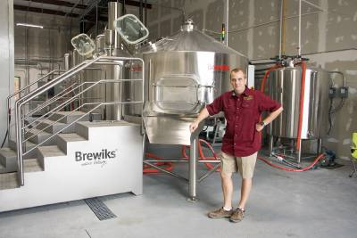 Thomas Lemke, a longtime homebrewer, owns and operates Klaus Brewing Company.