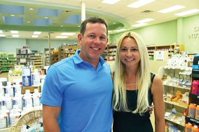 David and Kelly Simmonds have owned Family Health Market since 2015.