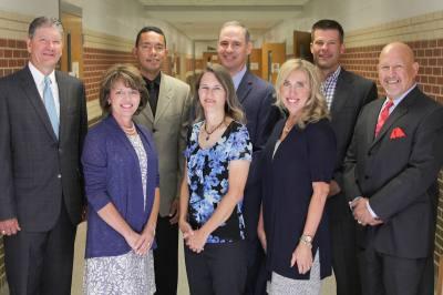 The GCISD board of trustees was named a finalist for Outstanding School Board.
