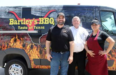 Owner Lynn Owens, Store Manager Shane Wilkinson and Assistant Manager Nancy Serrano run the restaurant.