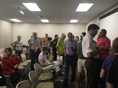 North Austin Civic Association members attended a meeting Thursday evening about public safety, health and wellness in their community.