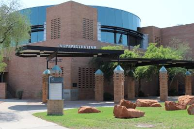 The Gilbert Municipal I Building acts as Town Hall and is where the Town Council meets.