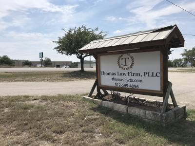 Thomas Law Firm is now open in Spicewood.
