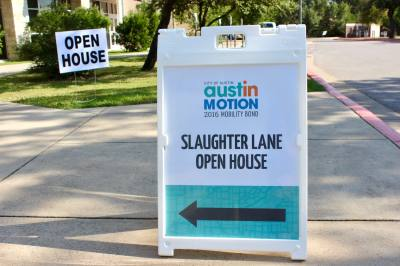South Austin residents learned about Slaughter Lane corridor improvements in 2018.