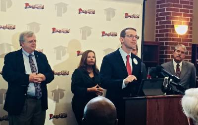 Texas Education Agency Commissioner Mike Morath told community leaders that Pearland ISD was among the top-performing districts in the state under the new A-F ratings.