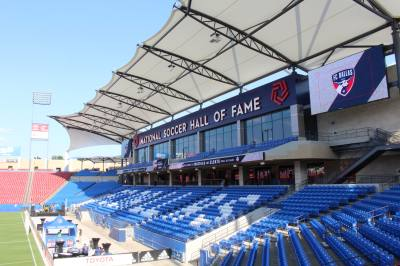 The 3,355 new seats on the south end of Toyota Stadium will be open to the public Aug. 4.