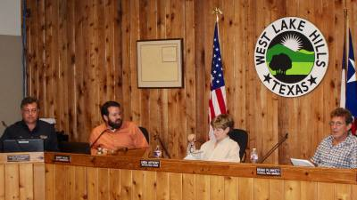 West Lake Hills City Council members and city staff discussed raising the proposed property tax rate at Wednesday's meeting.