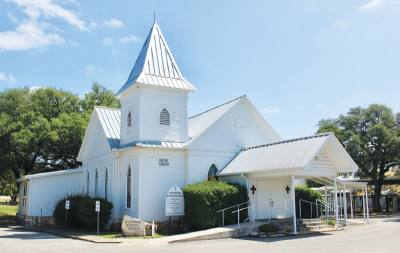 Spicewood Baptist Church has stood for 110 years, and locals used to gather at the site to worship before there was a structure.