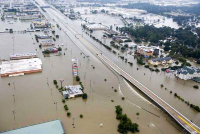 Hurricane Harvey dumped about four feet of rain over Harris County over the course of four days in August 2017.