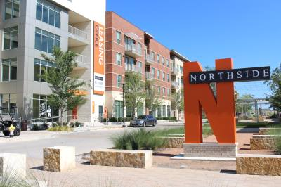 Northside is located just north of The University of Texas at Dallas.