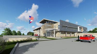 The public safety complex will include new buildings for the Richardson police and fire departments.