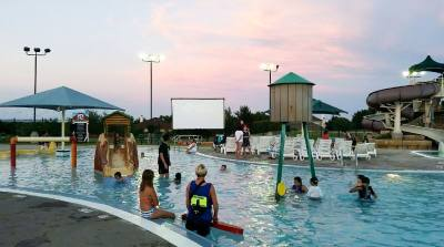 Bring a pool noodle to watch a screening of u201cIce Age.u201d Concessions are available. Arrive between 8:15-8:30 p.m. $5 (ages 14 and older), $3 (ages 13 and under). Scott Mentzer Pool, 901 Old Austin-Hutto Road, Pflugerville. 512-990-6355. nhttps://parks.pflugervilletx.gov/events