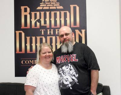 Amber and Jesse Smith opened Beyond the Dungeon in August 2017.