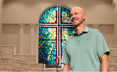 Jason White became lead pastor of Manchaca Baptist Church in October 2014. The church celebrates its 100th anniversary this fall.