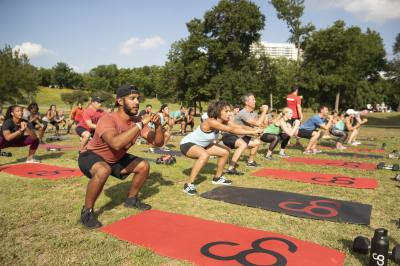 Camp Gladiator is known for its bootcamp-style workouts that incorporate both cardio and strength exercises.