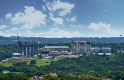 The guest tower of the Omni Barton Creek Resort & Spa was completed Aug. 1. The entire renovation and transformation project is scheduled to be completed May 2019.