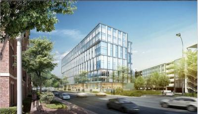 Owned by Texas Health and Human Services, the John H. Winters building is undergoing a major expansion.