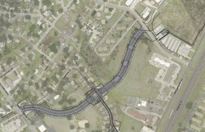 Construction will extend Rivery Boulevard from its north terminus at Williams Drive to a new intersection with Northwest Boulevard, with the new roadway segment including four lanes with a divided median as well as a traffic circle at the intersection of Park Lane, according to the city.