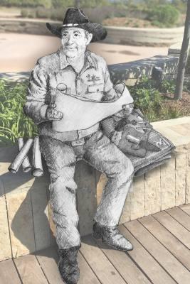 David Iles will create a bronze sculpture of Wayne Ferguson.