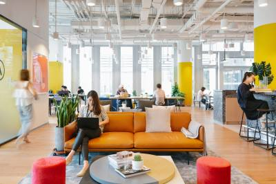 WeWork has five co-working spaces in Austin, three of which are in the urban core.