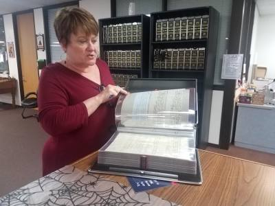 Comal County Clerk Bobbie Koepp is leading the effort to preserve the county's historical documents in fire and flood resistant containers.