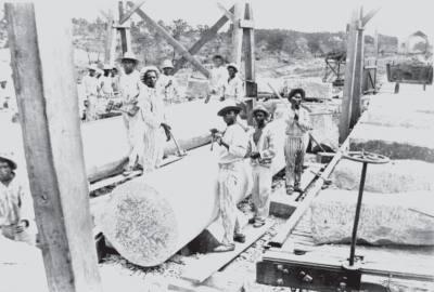 Inmates quarried granite in Burnet and limestone in South Austin.
