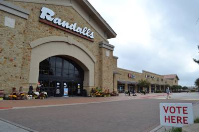 Election Day voters in Williamson County could cast their ballots at the Cedar Park Randalls.