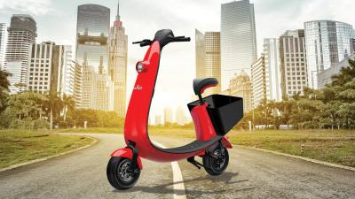 OjO launched its light electric scooter service in Austin on Jan. 8.