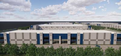 Logistics Property Co. is building a new industrial park for warehouse and distribution tenants.